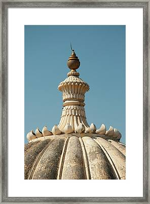 Fluted Dome On Kumbhalgarh Fort Framed Print