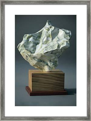 Flutter Framed Print by Manuel Abascal