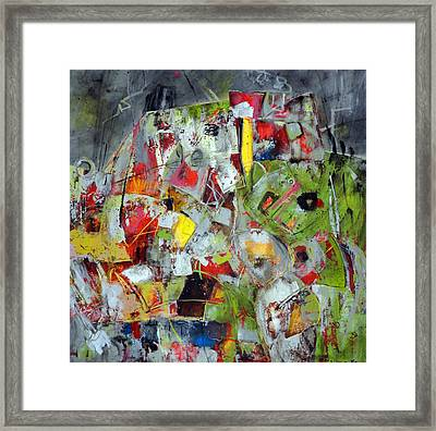 Flux Framed Print