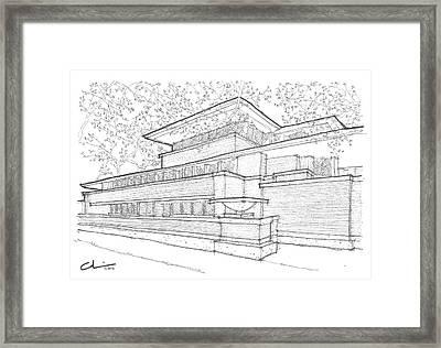 Flw Robie House Framed Print