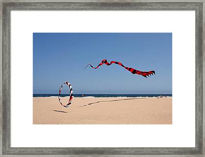 Fly A Kite - Old Hobby Reborn Framed Print