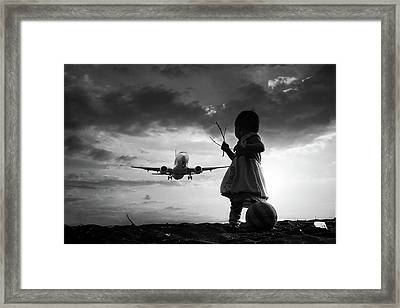Fly Again Framed Print