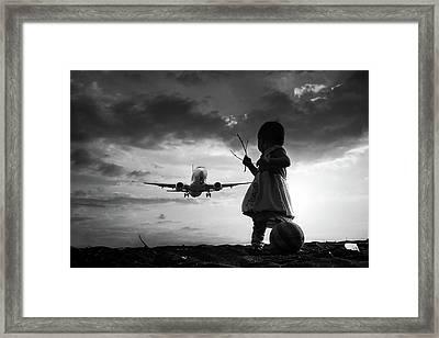 Fly Again Framed Print