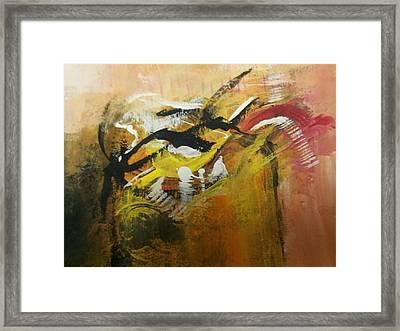 Fly Away Framed Print by Forum  Gala