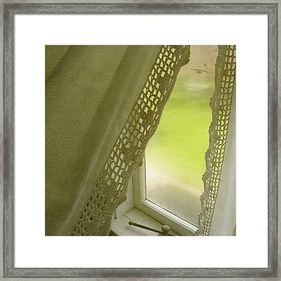 Framed Print featuring the photograph Fly Away by Sally Banfill