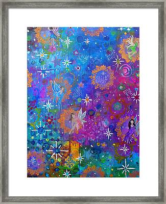 Fly Away To Fairy Day Framed Print by The Art With A Heart By Charlotte Phillips