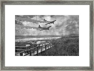 Fly Because You Love It Framed Print