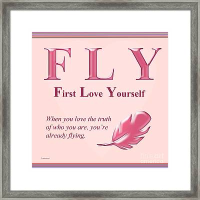 Fly Buseyism By Gary Busey Framed Print by Buseyisms Inc Gary Busey