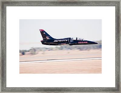 Fly By At 300mpr Framed Print by Brian Williamson