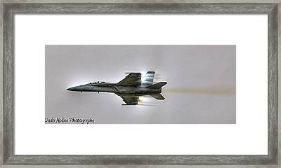 Fly-by Framed Print by Dado Molina