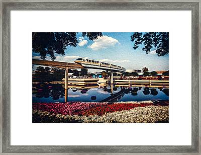 Framed Print featuring the photograph Fly By by Joshua Minso