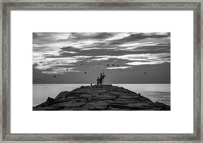 Fly By Framed Print by Kristopher Schoenleber