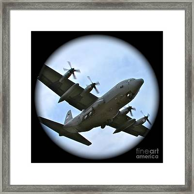 Fly By Framed Print by Rick  Monyahan
