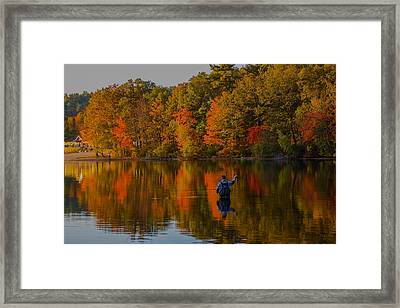 Fly Fishing Framed Print