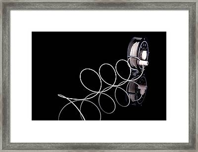 Fly Fishing Reel Framed Print