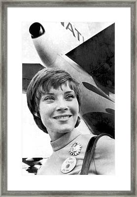 fly Me' Airline Ad Campaign Framed Print by Underwood Archives