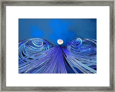 Fly Me To The Moon Framed Print by Michael Durst