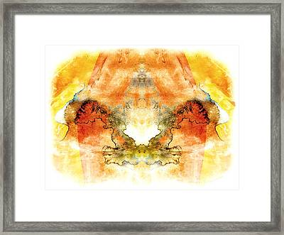 Fly To The Sun Framed Print