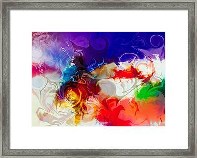 Fly With Me Framed Print by Omaste Witkowski
