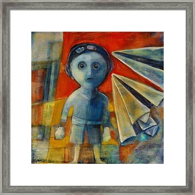 Flyboy Framed Print by Jean Cormier