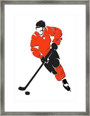 Flyers Shadow Player Framed Print by Joe Hamilton