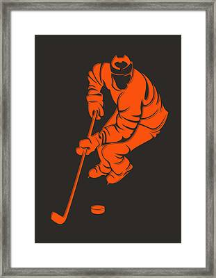 Flyers Shadow Player3 Framed Print