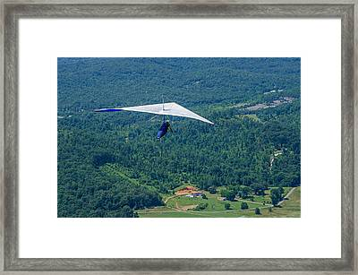 Framed Print featuring the photograph Flyin High by Susan  McMenamin