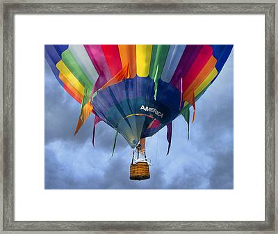 Flyin The Coop II Framed Print by Betsy Knapp