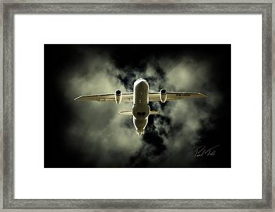 Flying Angel Framed Print by Paul Job