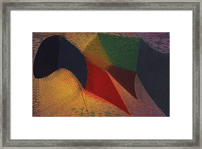 Flying Carpet? Framed Print by Constance Krejci