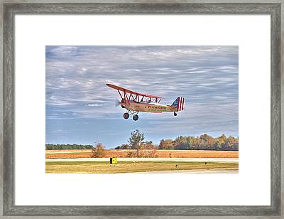 Flying Circus Barnstormers Framed Print