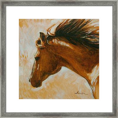 Flying Duchess Framed Print by Tracie Thompson
