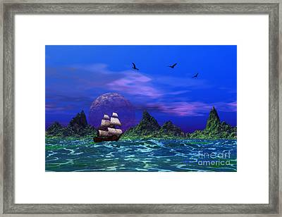 Framed Print featuring the photograph Flying Dutchman by Mark Blauhoefer