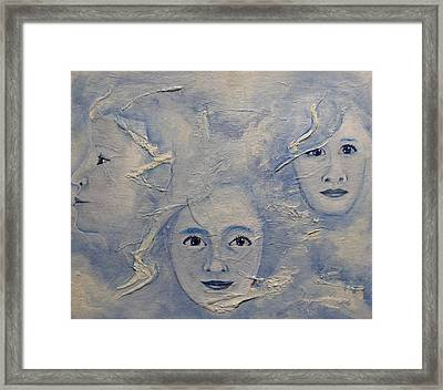 Flying Fates Framed Print