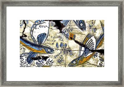 Flying Fish No. 3 - Study No. 2 Framed Print by Steve Bogdanoff