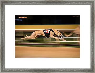 Flying Five Framed Print by Keith Armstrong