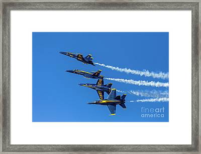 Flying Formation Framed Print