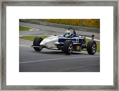 Flying Formula Framed Print