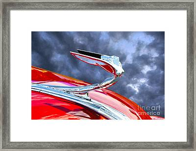 Flying Goddess Framed Print