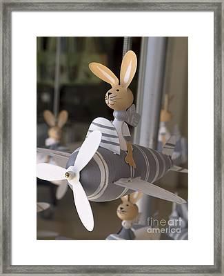 Flying High Framed Print by Gillian Singleton
