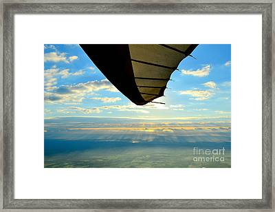 Flying High Framed Print by Jeffery Fannin