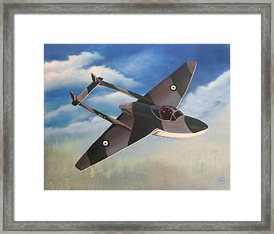 Flying High Framed Print by Sheri Keith
