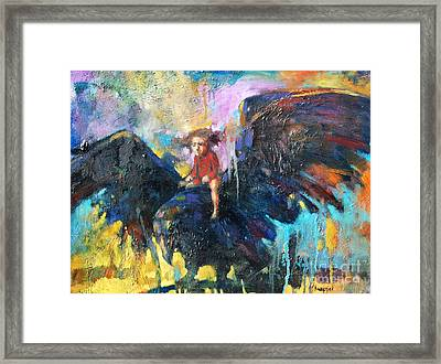 Flying In My Dreams Framed Print by Michal Kwarciak