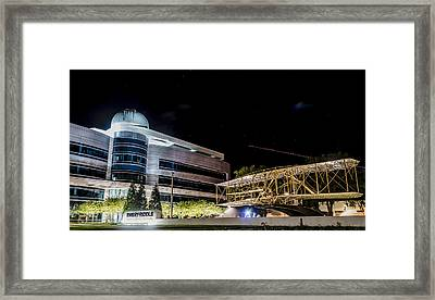 Flying Into A New Century Framed Print