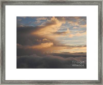 Flying Into Morning Framed Print by Margaret McDermott