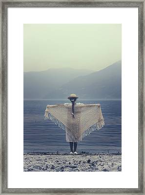 Flying Into The Future Framed Print by Joana Kruse