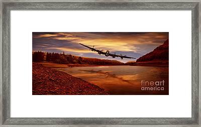Flying Low Framed Print by Nigel Hatton