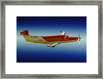 Flying Framed Print by Paul Job