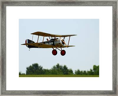 Flying Rc Framed Print by Thomas Young