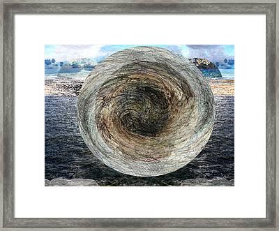 Flying Saucer #2 / Platillo Volador #2 Framed Print